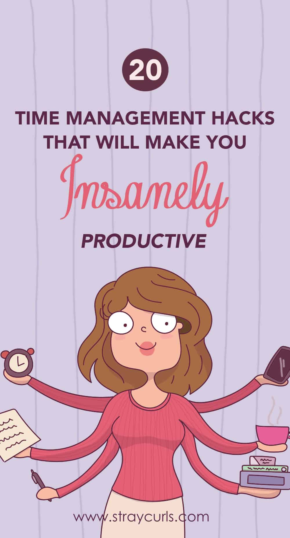 Read these super time management tips and hacks to become more productive. Increase your productivity by reading the importance of time management. Also includes a time management printable to help you become more productive #timemanagement #girlboss #planner #productive #productivity