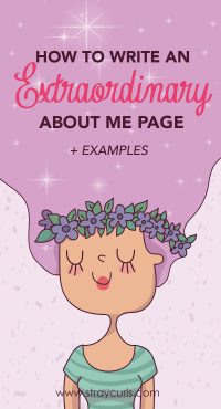Learn exactly why and how to write an extraordinary About Me page for your Blog with these simple tips. Examples and screenshots are included!