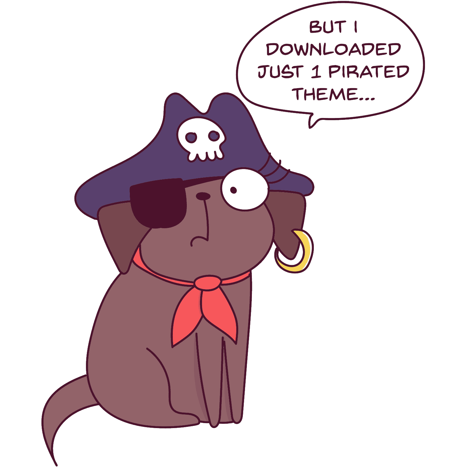 One of the biggest blogging mistakes you can make is downloading a pirated theme. This is such a bad idea, because not only is it illegal, but you will never get updates from the theme, which is important if you want to have a money-making blog.