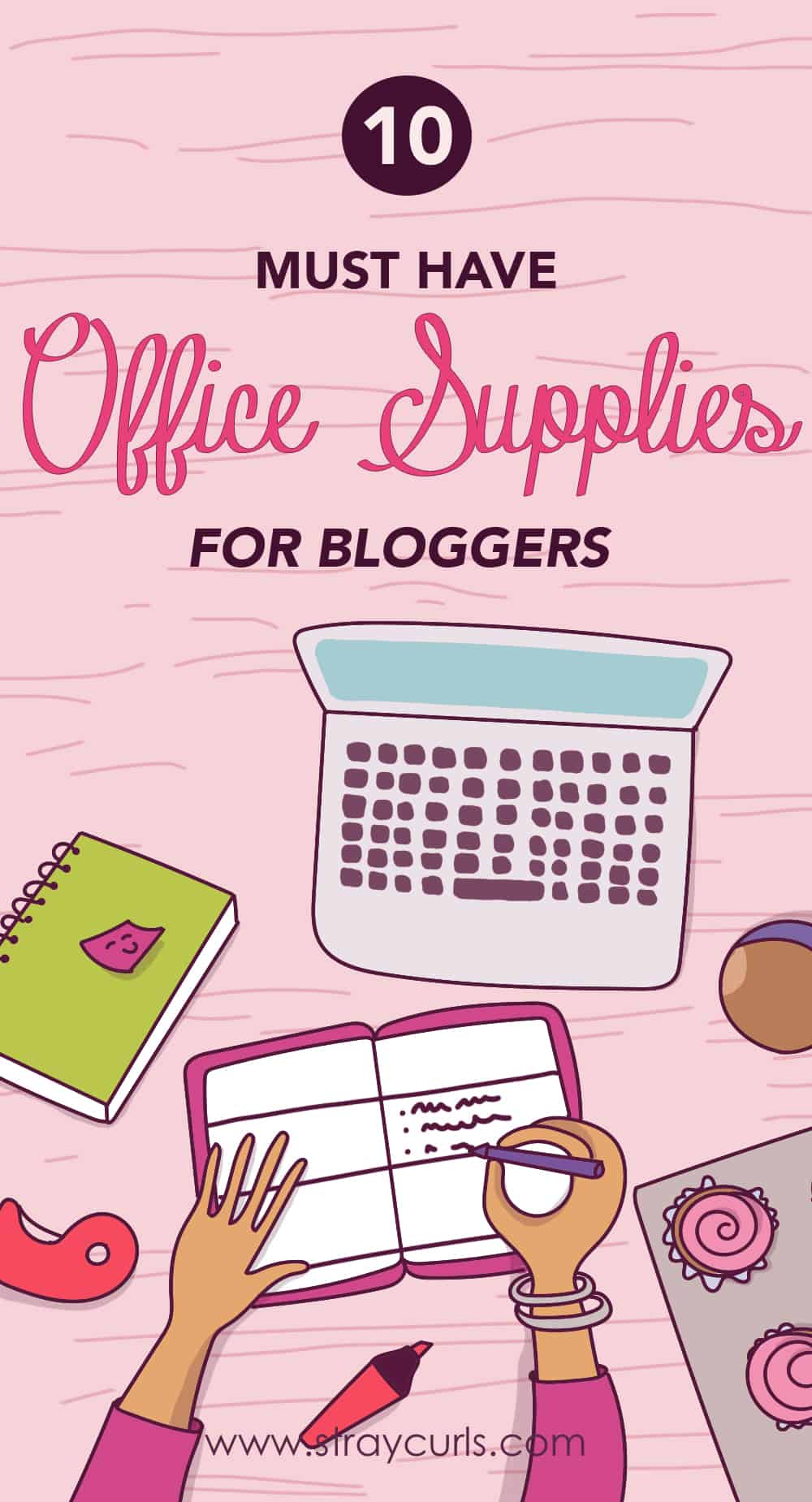 Read to find out the must-have office supplies that every girl should have on her desk. This post includes cute stationery and functional objects that you can use every single day!