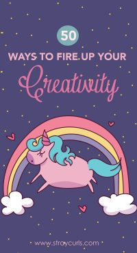 Learn how to fire up your creativity. Beat creative blocks like writer's block or artist's block and never run out of ideas for your next project. Learn how to become more creative and never stop creating.
