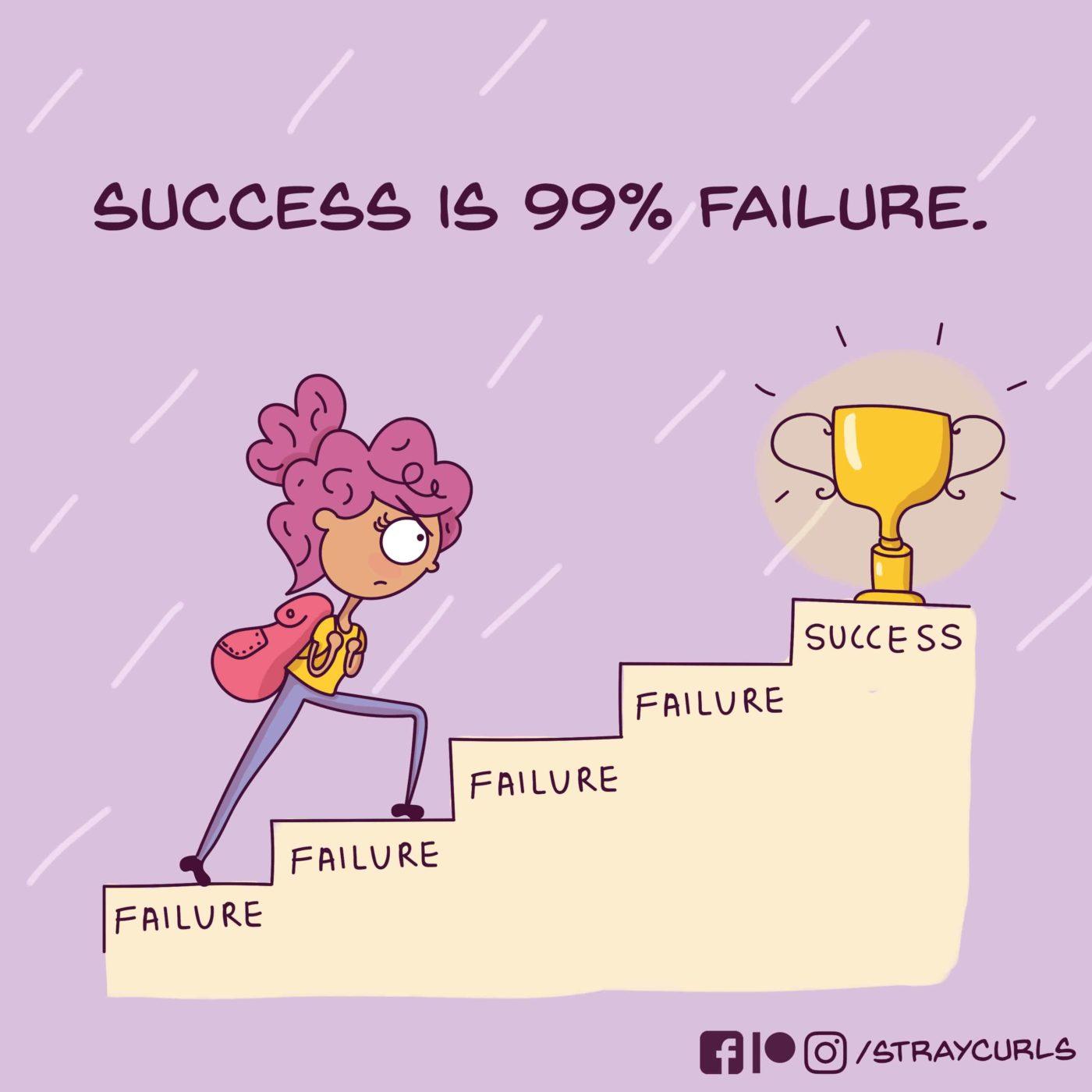 success_is_99_percent_failure