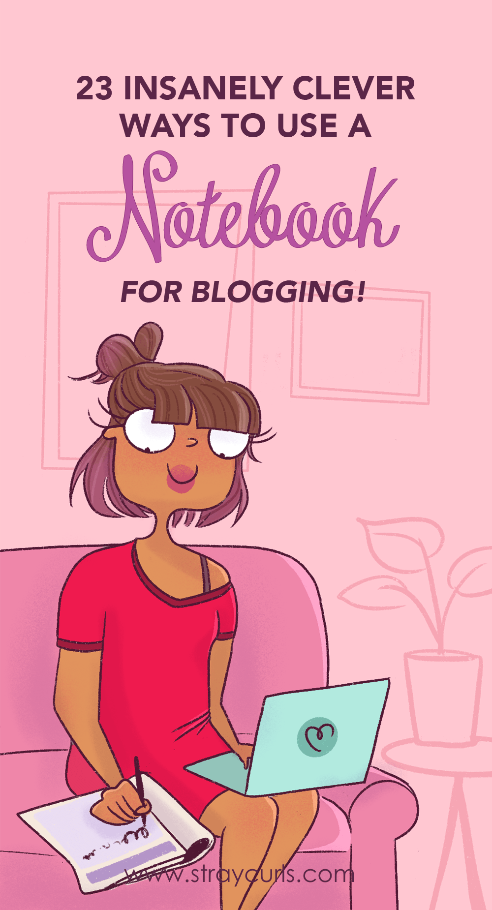 Use a notebook to increase your productivity as a blogger. Record blogging stats that will help you skyrocket your blog traffic and increase prductivity. #productivity #bloggingtips #blog