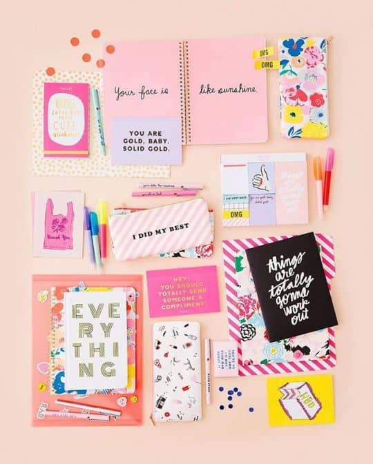 Ban.do creates stationery for girls who love fun, modern designs and lots of pink.