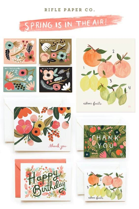 Rifle Paper Co Stationery makes women go ga ga