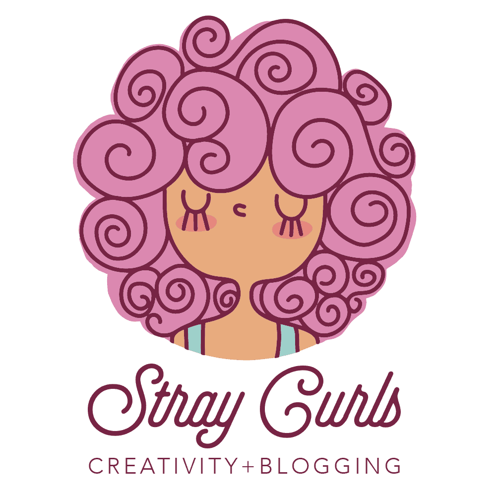 Stray Curls Logo