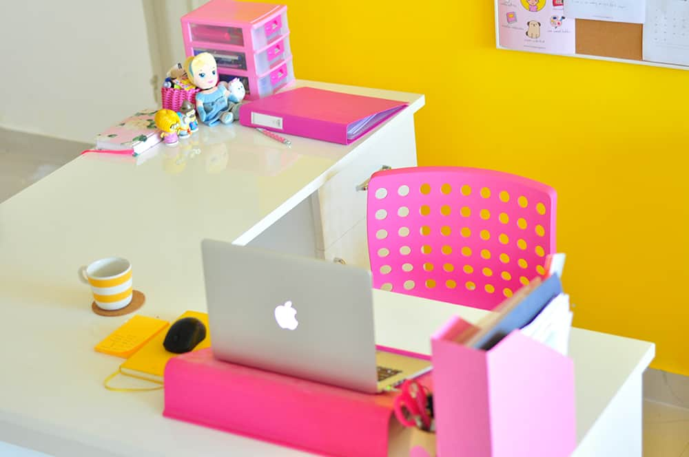 Keep your desk tidy and clutter-free. This will mentally stimulate you and increase your productivity.