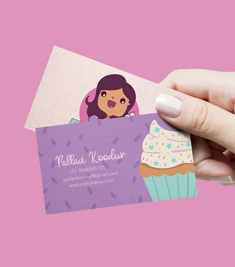 business card, illustration, business card illustrated, custom illustrated business card