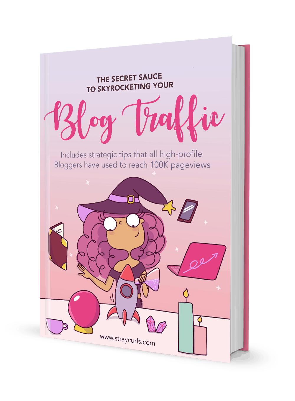 This Blog Traffic eBook will teach you how to grow your blog traffic from scratch so that you can earn more money with your blog.