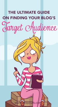 Without marketing to the right target audience, your blog posts or products will not take off. By narrowing down your niche and identifying your ideal blog reader, you will discover your target market! #blog #blogging #bloggingtips #millennial #girlboss Girl finding target audience illustration, target audience illustration.