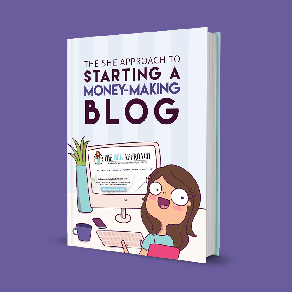 Illustrating beautiful eBook covers for women bloggers and lady entrepreneurs.