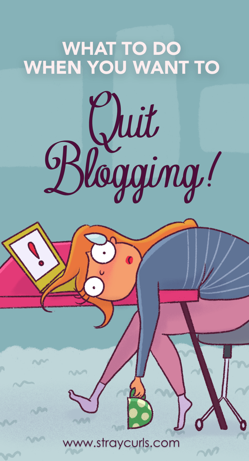 Stressed about your blog going nowhere? Overwhelemed and tired about your Blog? I got you covered. Learn how to beat blogging burnout and get inspired so you can start a blog and get over blogger's anxiety! #blogging #bloggingtips