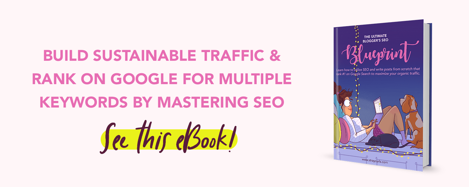 Struggling to understand SEO and write SEO optimised posts that rank on the front page of Google? This SEO Blueprint for Bloggers will help!