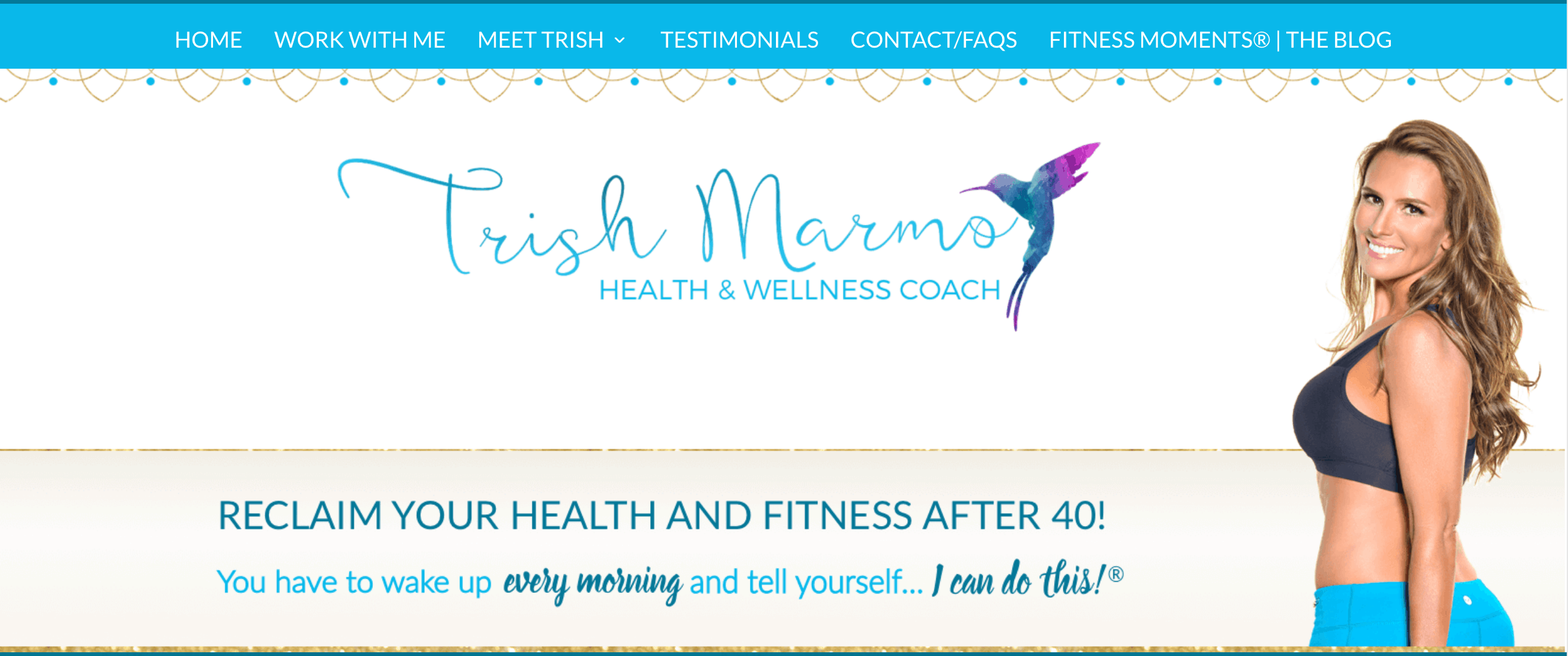 A Client of mine owns a fitness blog and she earns her income by offering private coaching!