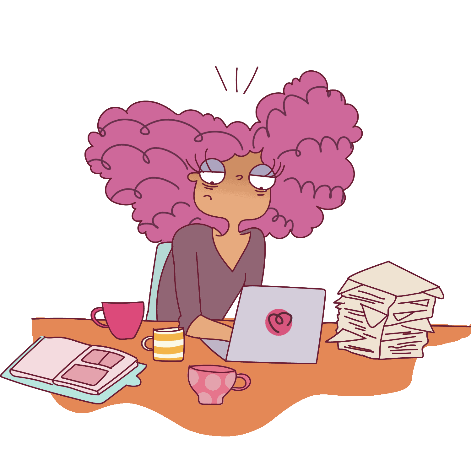 Do not overburden yourself when you're working from home. Stick to fixed working hours.