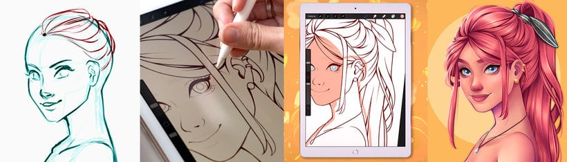 drawing step by step