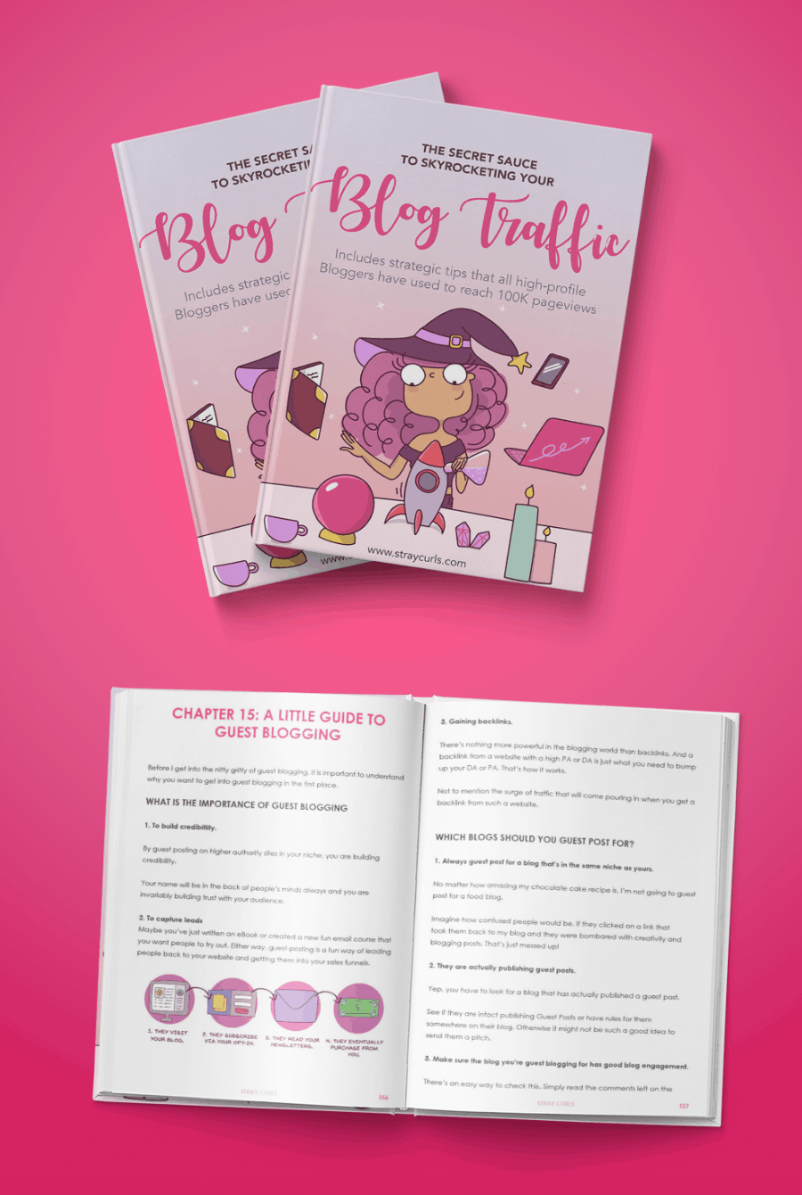 The Secret Sauce to Skyrocketing your blog traffic will help you understand how to get your blogging fundamentals right so that you can boost your blog traffic immediately!