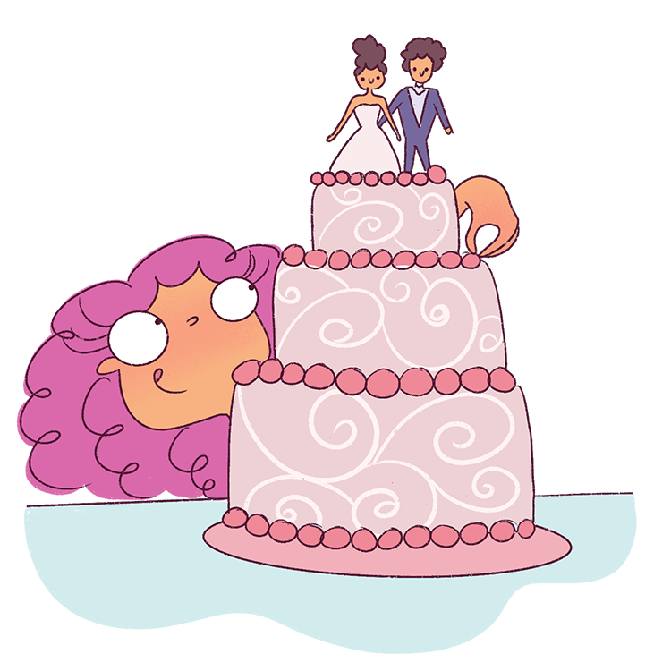 If I was writing a Wedding eBook, I'd write chapters on choosing a cake, picking a wedding dress and so on. Outline your eBook and this will help you finish it much faster!