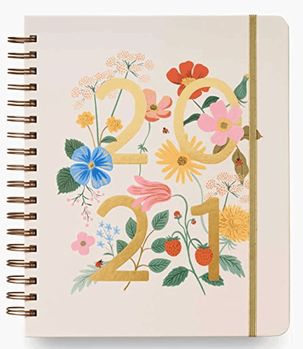 The most beautiful and feminine planner for bloggers