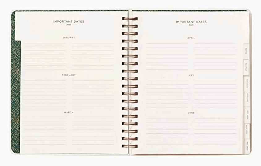 Their weekly spread is extremely helpful if you want to write down all of your daily to-dos.