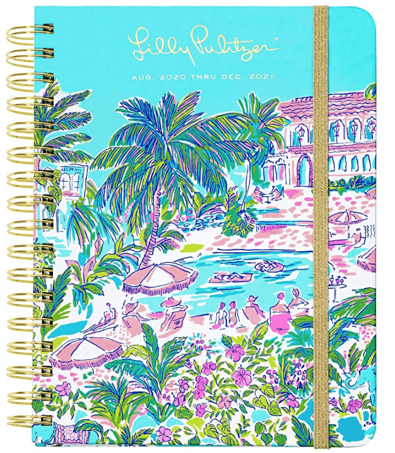 For people who love bold and happy colors, this planner is for you.