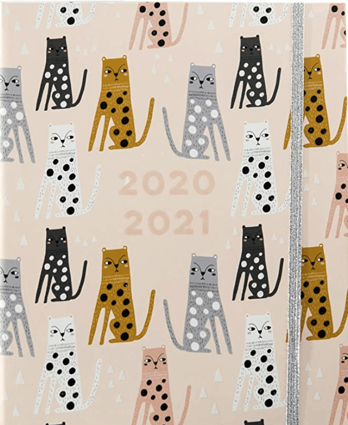 cutest cat planner for 2021
