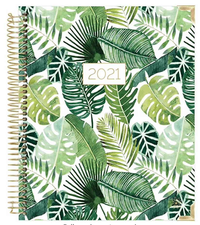 Bloom Tropical Leaves Planner for Bloggers