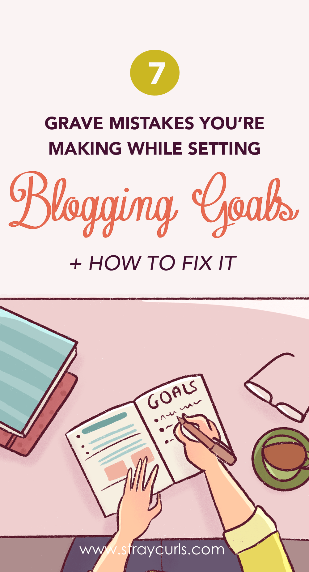 Tired of not achieving your blogging goals? In this post I cover how you can set good first year blogging goals so that you can actually achieve them. Learn how to set smart goals for your blog.