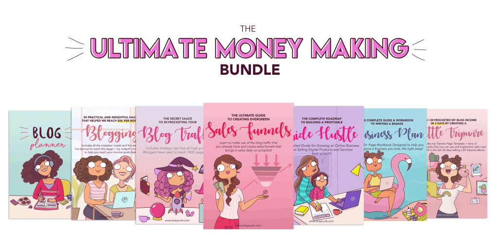 The ultimate money making bundle for bloggers.
