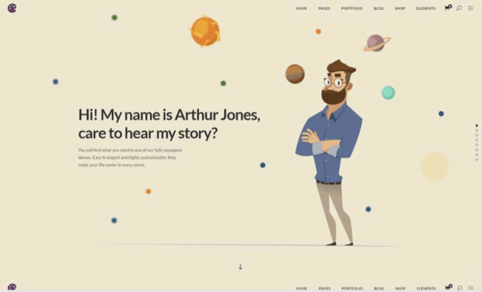 Illustrator is a very pretty wordpress theme for Illustrators and artists.
